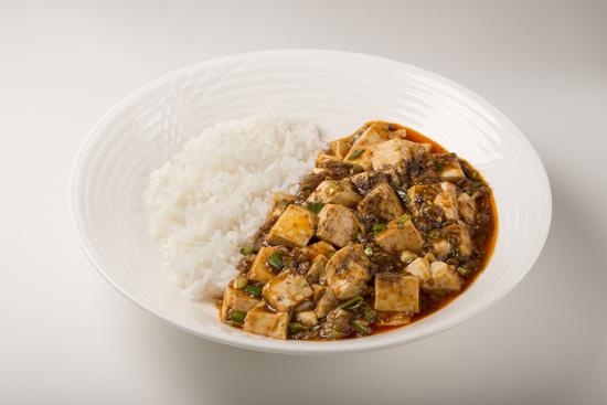 四川麻婆豆腐かけ御飯