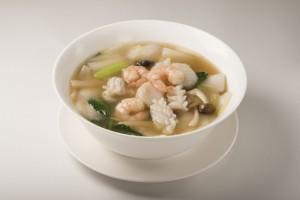 海鮮スープそば ¥1,200(税込)